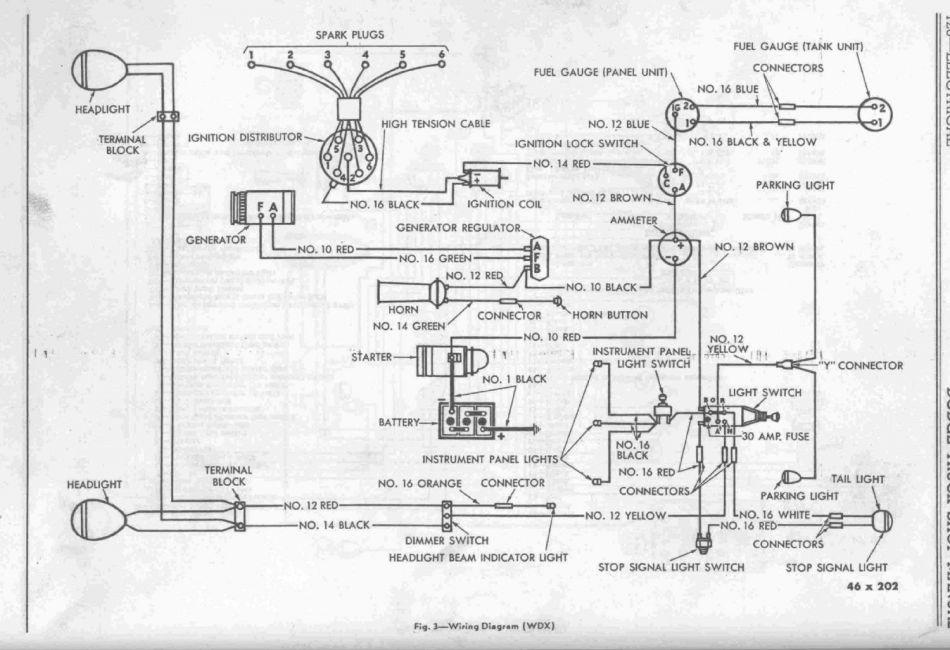 6 volt generator schematic wiring diagrams 1946 47 wdx wiring diagram  6 volt  t137 photo  1946 47 wdx wiring diagram  6 volt