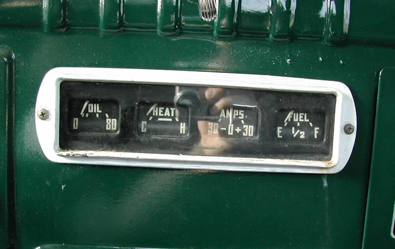 The 1955 or 56 6 Volt trucks