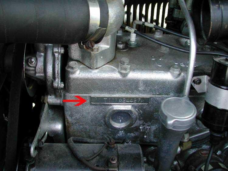 Engine Number