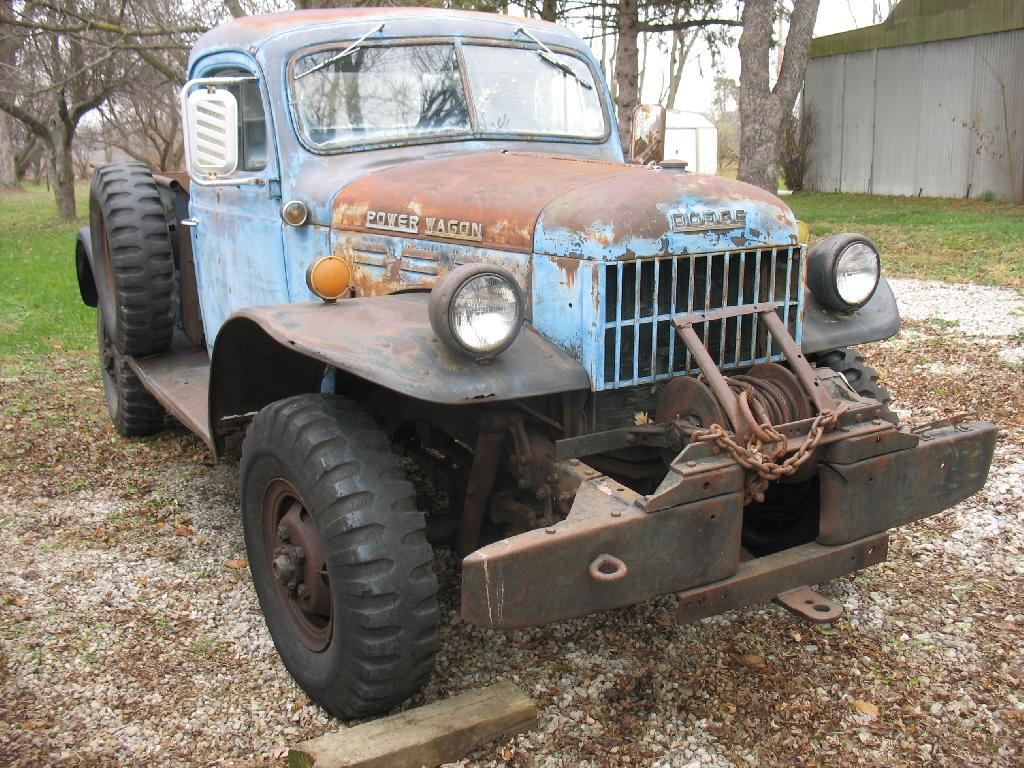 Power Wagon Registry Display 1954 Dodge Location Ohio Wayne
